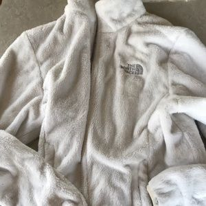North face zip up fleece